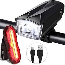 Techole <b>Bike</b> Light <b>Set</b>, Rechargeable <b>Bicycle Lights</b> with 300LM ...