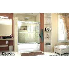 dreamline tub door essence h w x h bypass tub essence h tub door inch chrome essence tub door