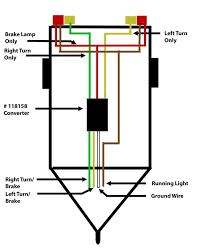 trailer light wiring diagram 4 pin7 pin plug within way for lights 6 way trailer plug wiring at 4 Way Trailer Wiring