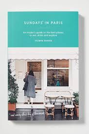 sundays in paris coffee table books