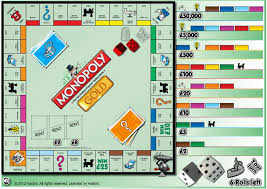 monopoly gold game