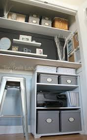 small office storage. Office Large-size Remodelaholic Making An Organized Closet Craft Space Step Storage. Modern Small Storage