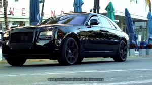 rolls royce ghost blacked out. all black rr phantom driving on ocean drive in miami beach florida youtube rolls royce ghost blacked out