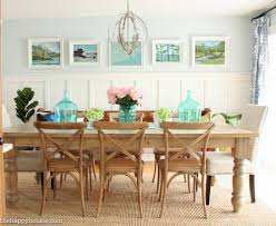 lake cabin furniture. Lake House Summer Tour With Beachy Coastal Colourful Entry Hall Dining Room And Deck At The Cabin Furniture