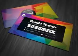Two Sided Business Card Template Word 53213700805 Free Double