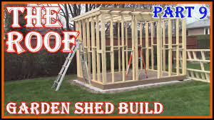 how to build a garden shed prefabing
