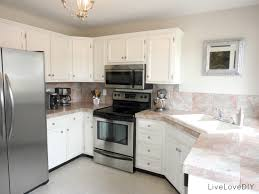 White Kitchen With Granite Granite Kitchen Countertops With White Cabinets 17 Best Images