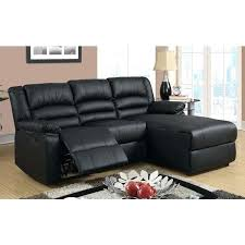 bonded leather modern bonded leather small space sectional reclining sofa with chaise free today