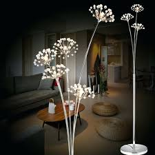 full size of red flower floor lamp glass shade metal new modern crystal for living room
