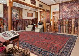 the main showroom at claremont rug company