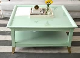 Pastel Painted Coffee Table Paint Your Old Coffee Tables