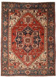 antique persian serapi 12 x 15 rug 14070