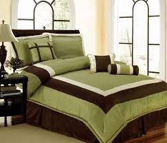 brown king size comforter set new bedding sage green brown white hampton comforter set queencal kingcurtains