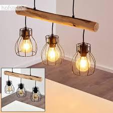 Beleuchtung Holz Schwarz Leuchten Pendel Raum Zimmer Schlaf