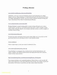Sample Resume For College Student Resume Samples College Students New Internship Resume Sample For