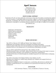1 Lpn Resume Templates Try Them Now Myperfectresume