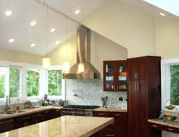 vaulted ceiling recessed lighting ideas sloped ceiling recessed lighting remodel as outdoor ceiling fan with light
