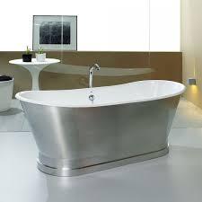48 inch freestanding tub. 50 inch bathtub 48 bathtubs freestanding silver bahttub with built in polished chrome faucet minimalist tub