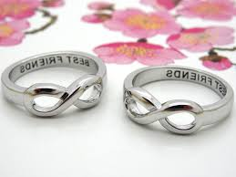 infinity mothers ring. infinity ring best friends mothers