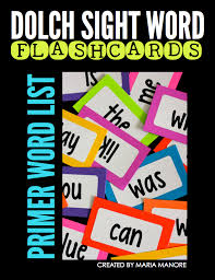 Dolch Second Grade Sight Words Flash Cards Free Labels To Make Your Own Sight Word Flash Cards