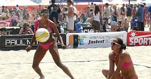 Priscilla Lima and Angela Lewis Hot Beach Vollyball Couple New Photos 2012  - sembrono