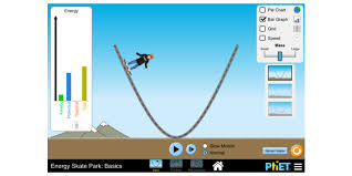 energy skate park basics conservation of energy kinetic energy potential energy phet interactive simulations