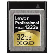 Thẻ nhớ 32GB XQD Lexar Professional 1333x - Tuanphong.vn