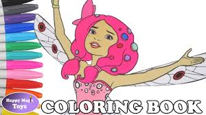 Mia And Me Coloring Book Mia Me Coloring Page Speed Coloring Happy