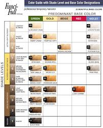 Hair Rinse Color Chart Hair Rinses Color Lusual Com