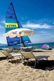 Lettini per spiagge : La spiaggia minerva resort hotel