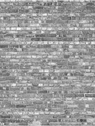 old brick wall black and white
