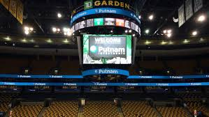 putnam investments name will now appear throughout td garden during celtics including on
