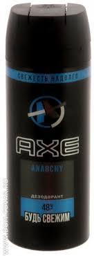 <b>Дезодорант</b>-антиперспирант Axe «<b>Anarchy</b>» для мужчин <b>спрей</b> ...