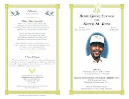 Funeral Program Word Template Interesting Military Funeral Program Template Free Military Memorial Service