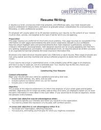 Resume Writing U Va School Of Engineering And Applied