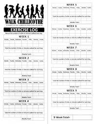 Printable Walking Charts Log Walking Kozen Jasonkellyphoto Co