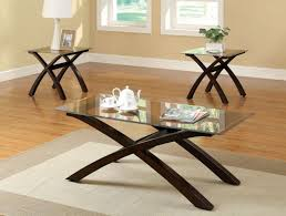 black metal base glass top modern 3pc coffee table set tables uk within wood base coffee table glass top