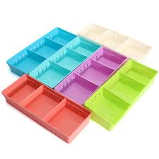 adjustable <b>makeup storage box drawer</b> home kitchen office supplie ...