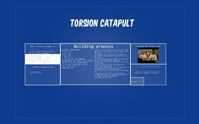 Torsion catapult by byron hart