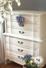 white furniture antique white bedroom. classic french provincial dresser restyled with generalfinishes antique white milk paint furniture bedroom