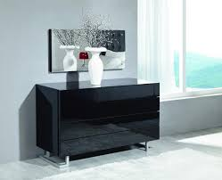 Beautiful Modern Black Bedroom Dresser