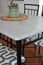 Kitchen Table Makeover Dining Table Makeover Guest Post Country Chic Paint