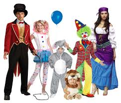 918 family costumes circus