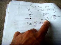 power off time delay relay circuit power off time delay relay circuit
