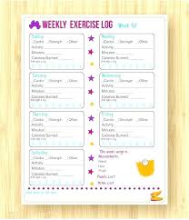 Weight Lifting Template Excel Workout Log Here The Fitness