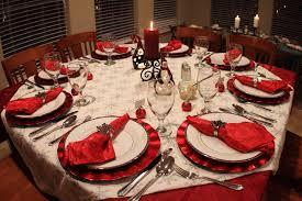 red and silver table decorations. 20. RED ROUND TABLE Red And Silver Table Decorations F