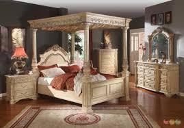 Elegant Antique White Bedroom Furniture Sets 10 Traditional And ...