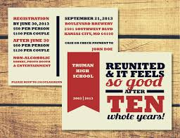 high school reunion invitation templates ctsfashion com perfect high school reunion invitation template black and red