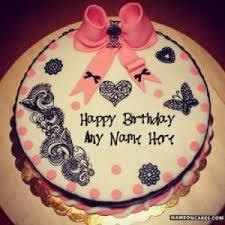 Makeup Birthday Cake With Name Saubhaya Makeup