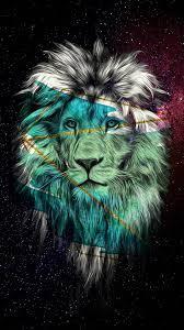 Lion Galaxy Desktop Background (Page 1 ...